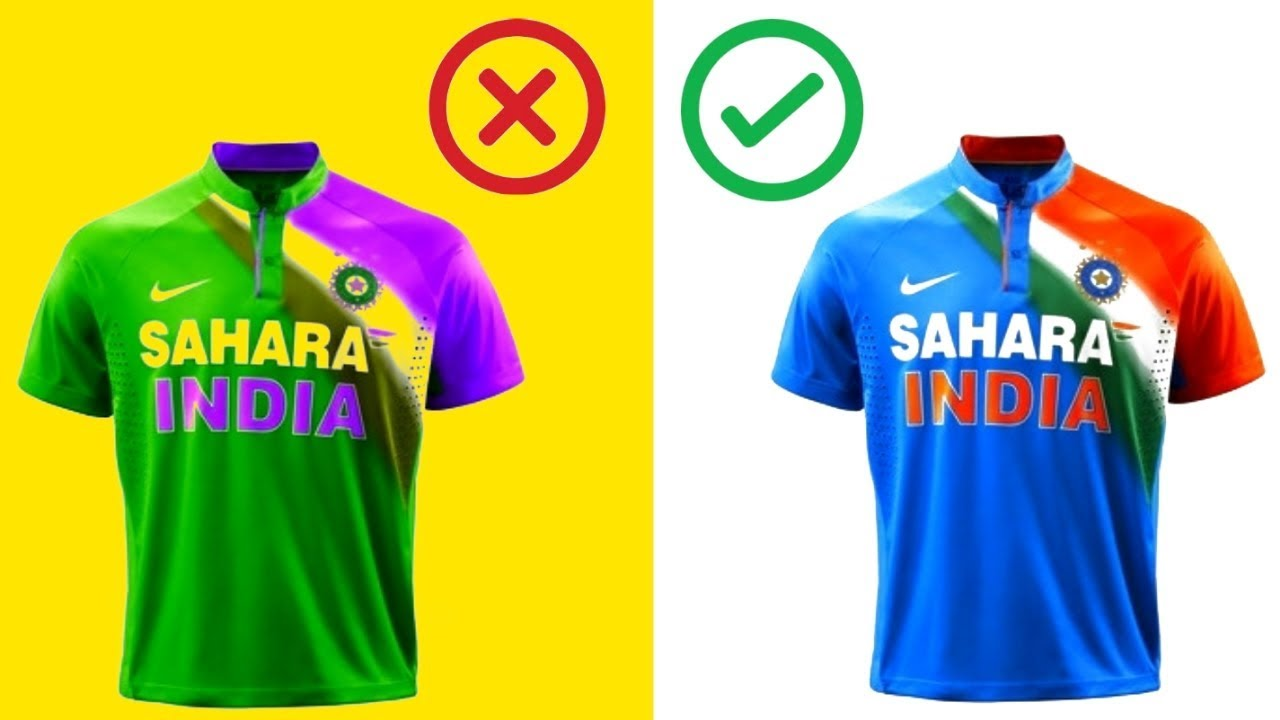 Cricket Jersey Why Indian Cricket Jersey Is Blue In Hindi Education Gk