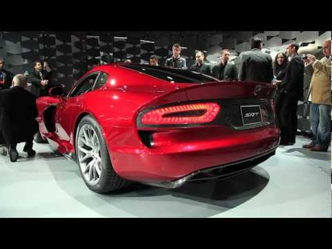 2013 SRT Viper - 2012 New York Auto Show - 동영상