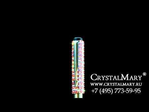 Ручка Паркер с кристаллами Сваровски