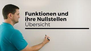 Kurvendiskussion, Nullstellen Bedeutungen   Mathe by Daniel Jung