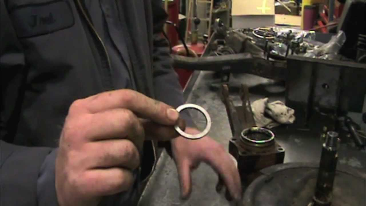 How to rebuild a Corvette rear wheel bearing part 1