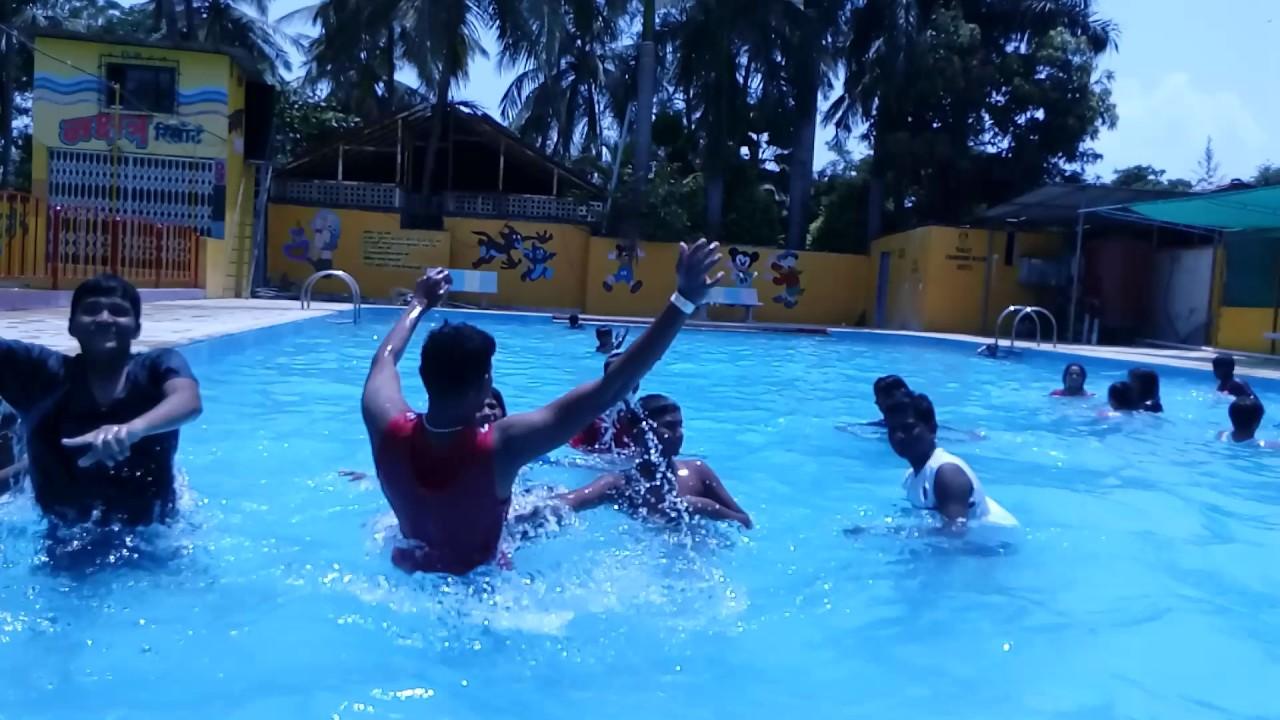 Anand Resorts Dance In Swimming Pool Nakshatra Resort Virar Like Share