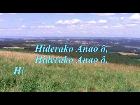HIDERAKO ANAO - Rija Rasolondraibe - Instrumental