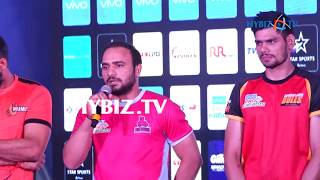 Manjit Chillar At Pro Kabaddi 2017 Season 5 Trophy Unveiled