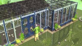 L200 - Chicken Coop Plans Construction - Chicken Coop Design - How To Build A Chicken Coop