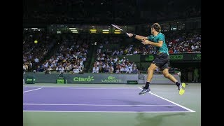 ATP TENNIS- BEST POINTS OF 2018 FILMED BY THE CROWD- ( COURT LEVEL)