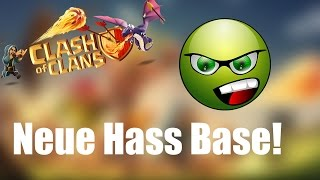 NEUE HASS BASE: TH 10 Clan War Base ✭ Clash of Clans [deutsch / german]]