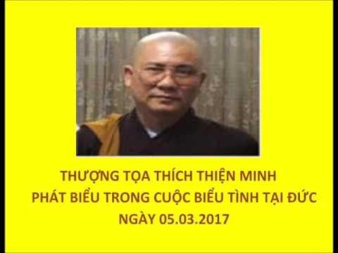 Thượng Tọa Thích Thiện Minh Phát Biểu Ngày 05 03 2017 - YouTube