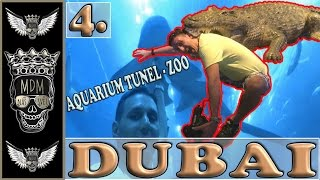 AQUARIUM TUNNEL IN DUBAI | VLOG | DUBAI MALL | 4 DEN | | ZOO | DEIRA | KAM NA DOVOLENOU S MDM