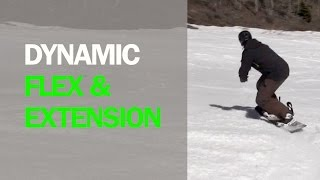 Learn Advance Snowboard Dynamic Flex Extend