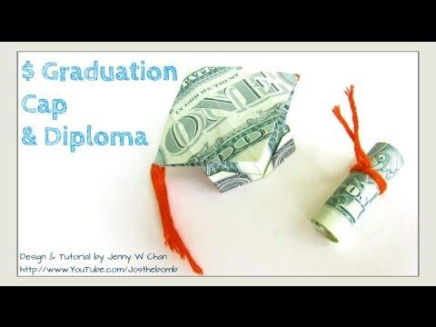 How To Make A Graduation Money Cake