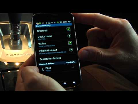How To Pair Your Android Phone with Porsche Communication Management System (PCM)