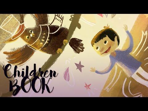 How to draw children book illustrations | speedpainting