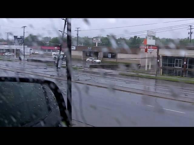 Outside of Rivergate Mall - Nashville Flood 2010