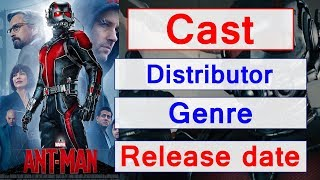 Ant Man movie cost, Production budget, Release date, Distributor, Genre and Runtime