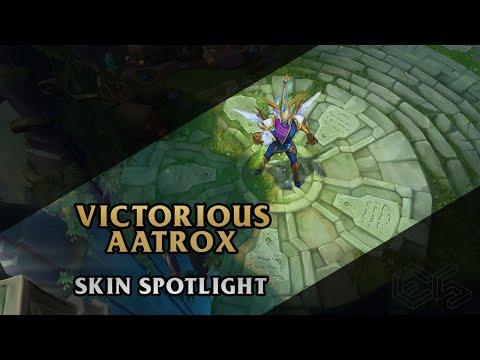 ► Victorious Aatrox ◀ League of Legends ▂ Skin Spotlight
