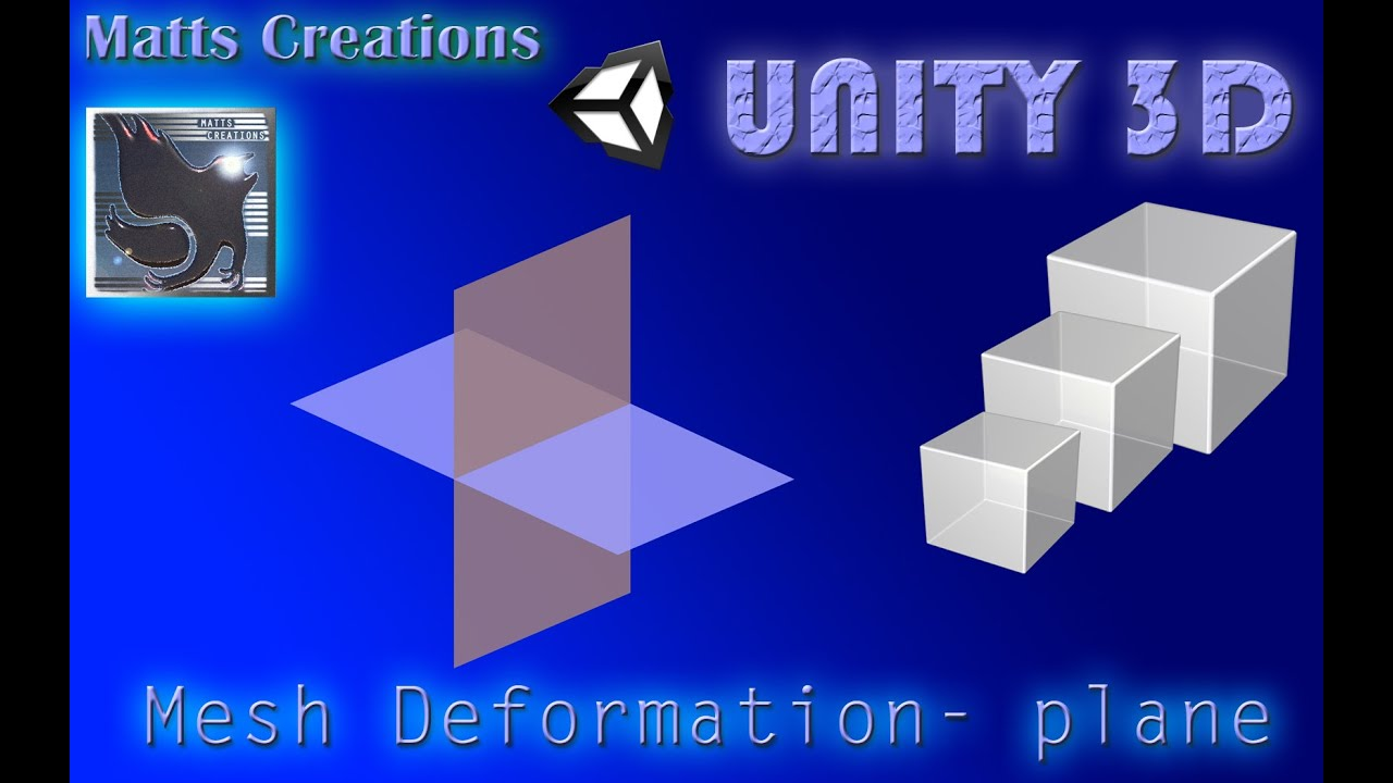 Unity 3D - Mesh Deformation Tutorial (Plane) #1 Basics