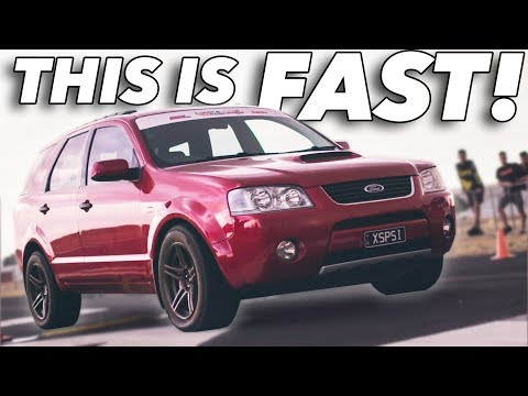 Soccer Mom SLEEPER - Turbo Ford Territory (900hp!!!!)