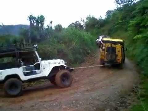 Lone Wolf Recovering a Broken down Toyota Part 2, San Pedro Sula, Honduras