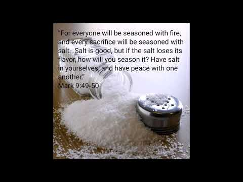 Salting The Sacrifice by Pastor Urshan