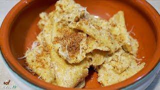 461 - Strapponi all'agliata...pasta all'uovo prelibata! (pasta fresca fatta in casa tipica toscana)