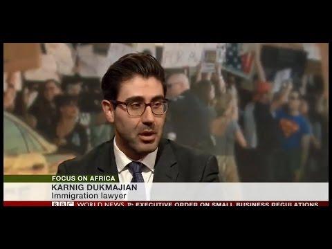 Karnig Dukmajian speaks with BBC World News: Focus on Africa - 30 Jan 2017