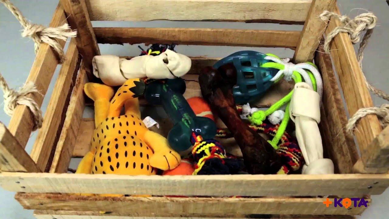 Maskota: 3 ideas para almacenar los juguetes de tu +kota