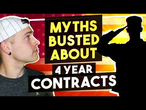 4 Year Contract In The Air Force - MYTHS BUSTED