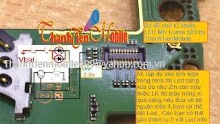 Xem Cách  Chế ( độ ) thành công ic đèn lumia 520,525.v.v... Áp Dụng Tất Cả Các Dòng ĐT