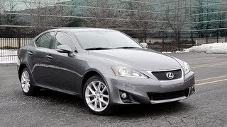 2013 Lexus IS350 AWD - WR TV POV Test Drive