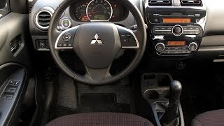 TEST DRIVE 2015 Mitsubishi Mirage GLS 1.2L MT (Mild acceleration, idle, cruising)