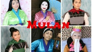 Disney's Mulan Makeup Tutorial Thumbnail