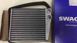 SWAG 30 93 7033 - Радиатор отопителя