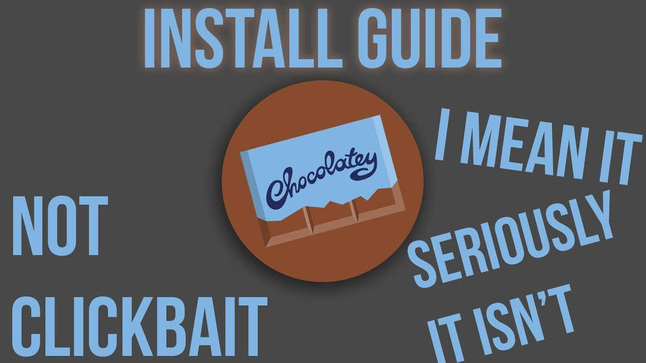 How to install Chocolatey Package Manager