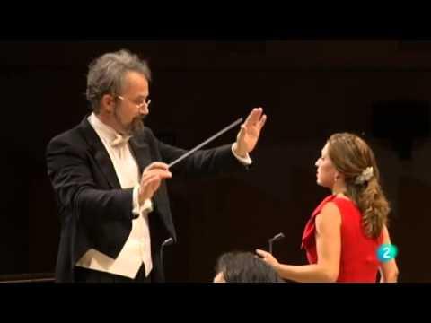 In trutina.Carmina Burana,Carl Orff.Raquel Lojendio,soprano