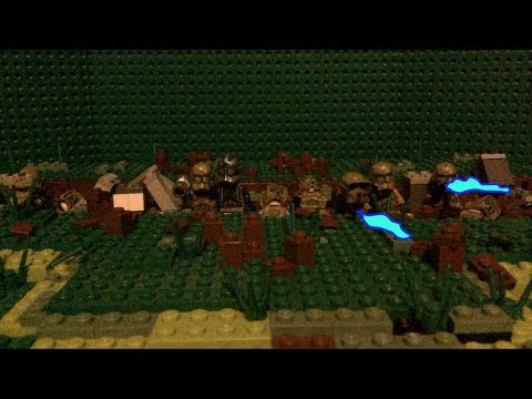Lego Starwars Trench Defense Stopmotion!