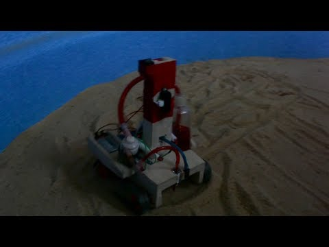 Autonomous mine detector