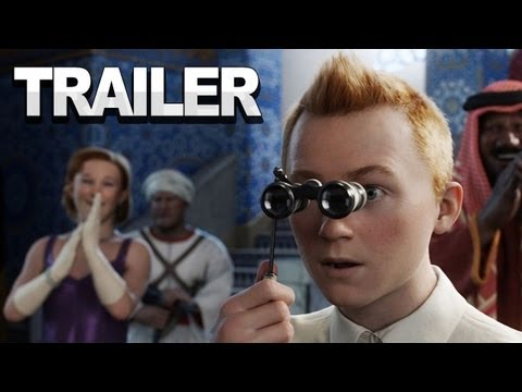 Adventures of Tin Tin - Behind the Scenes Tech Trailer