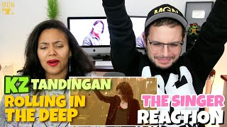 KZ Tandingan - Rolling in the Deep | Singer 2018 | Episode 5 | REACTION