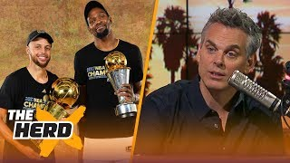 colin cowherd has no problem with sports dynasties nba the herd