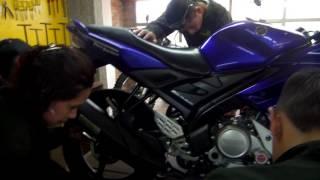 Poliandino- Practicando Motos de ALto cilindraje