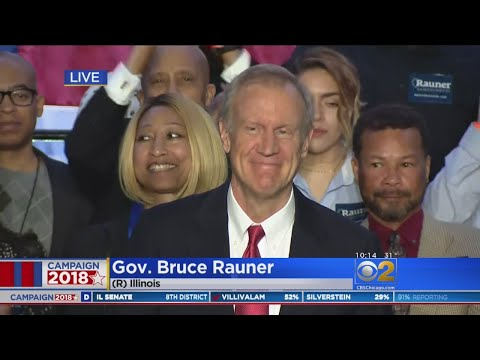 Bruce Rauner Declares Victory