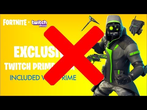Fortnite TWITCH PRIME SKINS #3 CANCELED! BUT CHANGED... (Fortnite Twitch Prime Exclusive 3 / PACK 3)