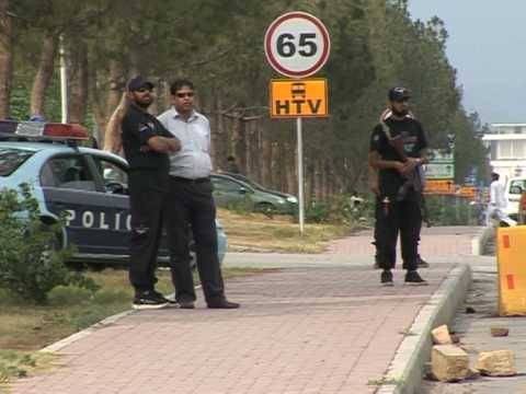 Islamabad: a city under siege