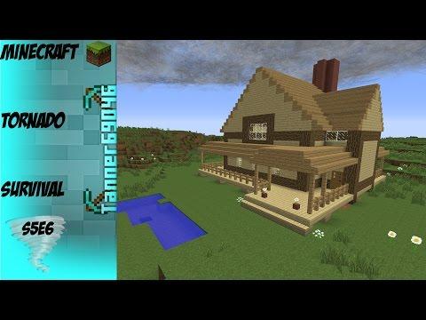 Minecraft Tornado Survival (Localized Weather Mod) S5E6