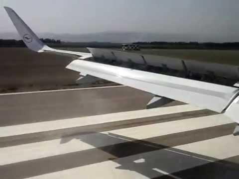 Landing in Algiers.