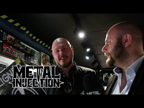 The Night Flight Orchestra Record Shopping in Sweden | Metal Injection