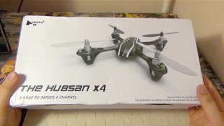 Квадрокоптер Hubsan x4 v2 h107l - распаковка и краткий обзор