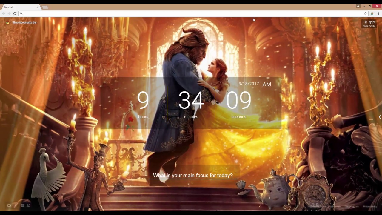 Beauty And The Beast Live Wallpaper