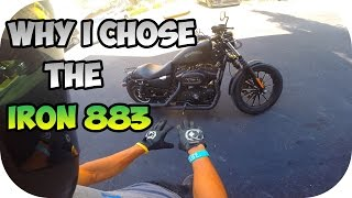 Sportbikes vs. Cruisers | Why I Chose the Iron 883?